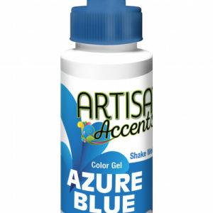 Artisan Accents Azure Blue Gel 2 fl oz.