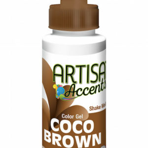 Artisan Accents Coco Brown Gel 2 fl oz.