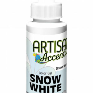 Artisan Accents Snow Gel White 2 fl oz.