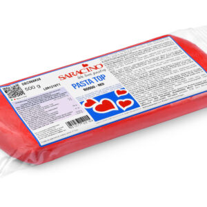 Red Pasta Top (Fondant) 500g (1.1 Lbs)